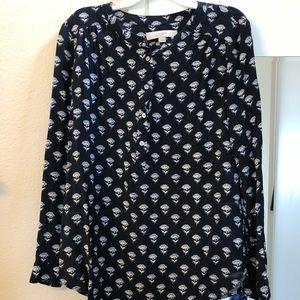 Loft floral blouse/shirt